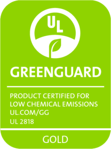 GreenGuard Gold Zertifikation