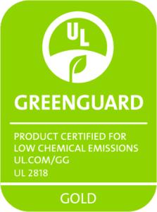 GreenGuard Gold Zertifikation