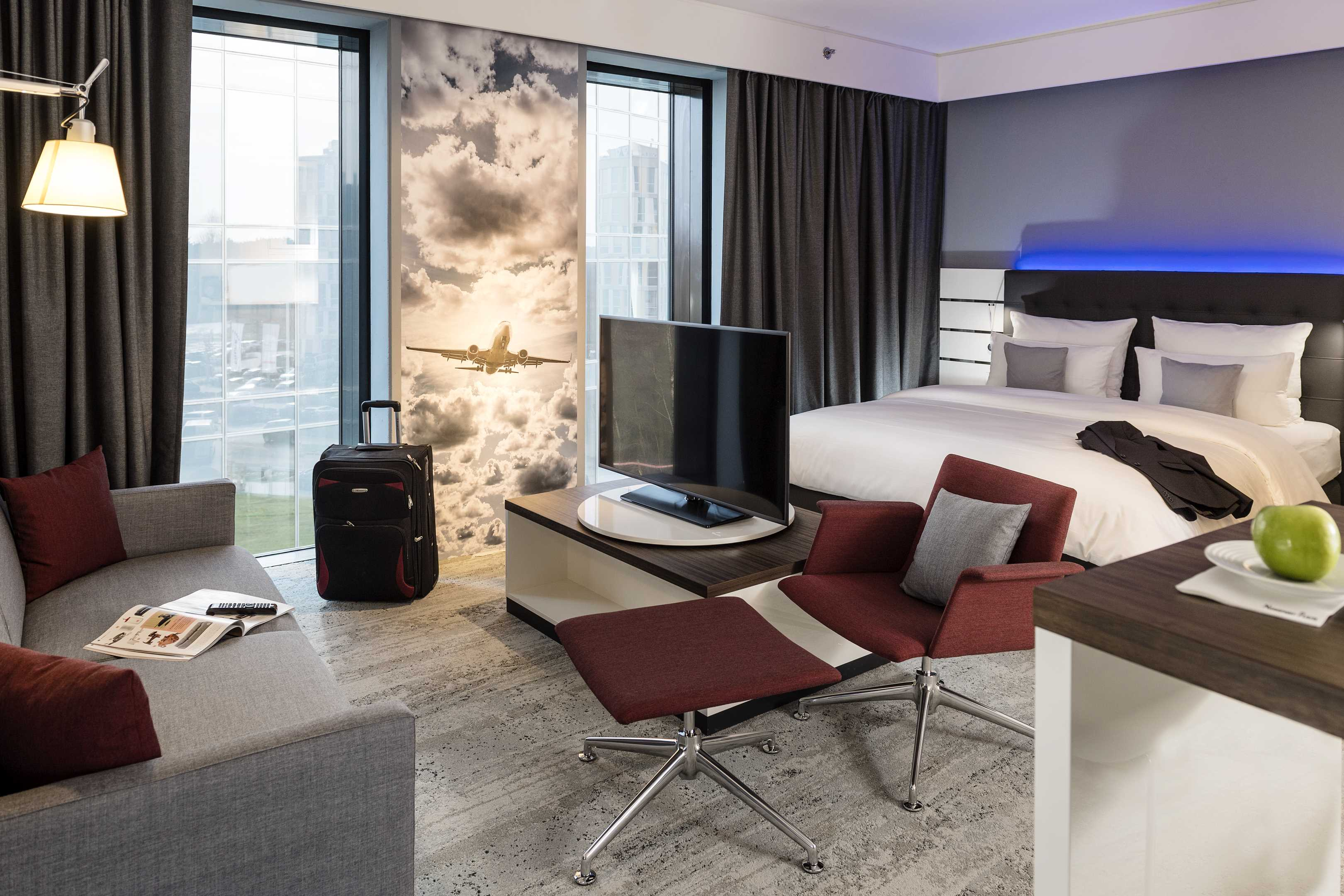 Nordport Plaza Hotel Interieur