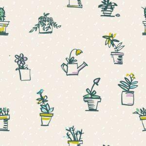 Herba - Sabine Schröter | Blume heiter Kids Kinder Kinderzimmer kindlich modern Pflanze Rapport simple