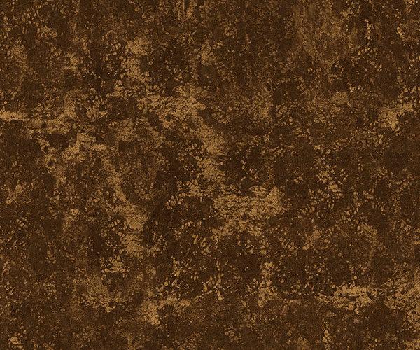 Furnace - Chloe Nalwoga | abstrakt braun gold metallisch rustikal Textur Vintage