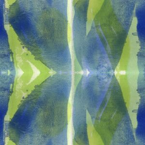 Forty Eight - Joris Martens | abstract blue geometric green structures texture watercolor
