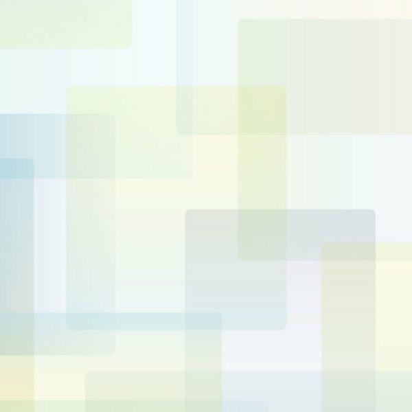 Oblong - Sabine Schröter | abstrakt blau geometrisch graphisch grün modern Mural Pastell Rechteck Wandgestaltung zart