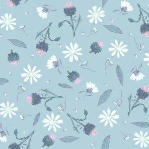 Arnica Cloudy-Blue - Lise Froeliger | Blumen Blüten floral hellblau