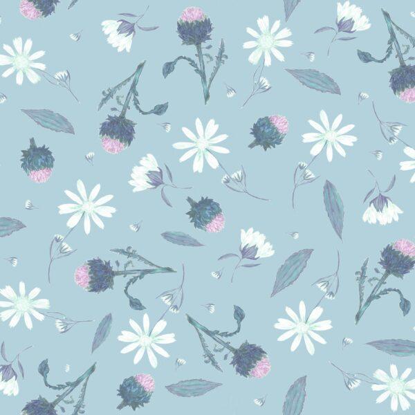 Arnica Cloudy-Blue - Lise Froeliger   Blumen Blüten floral hellblau
