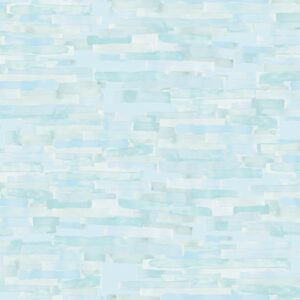 Cendres Bleues (blue) - Lise Froeliger | blue pastel stripes texture turquoise