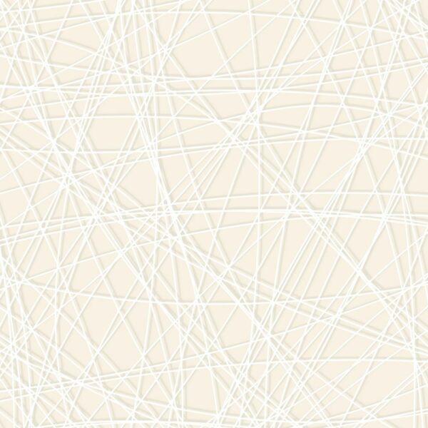 Linea - Sabine Schröter | abstrakt flächig grau Linien modern Rapport weiß