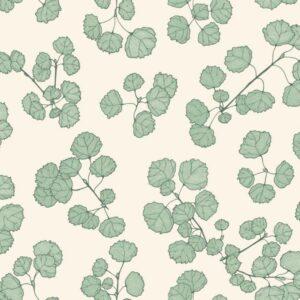 Asp-Green - Johanna Skånmyr | Blätter Espen Forst grün organisch Wald Zweige