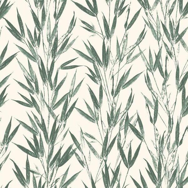 Bamboo-Green - Johanna Skånmyr   Bambus Blätter botanisch grün Japanisch organisch