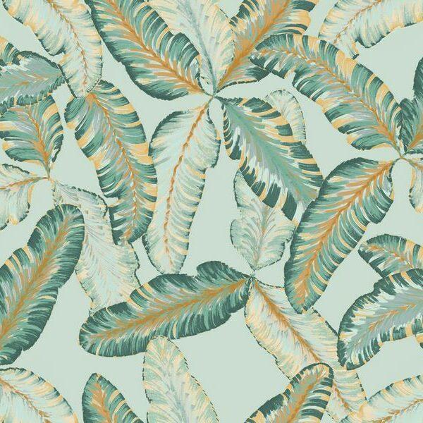 Jungle Beat-Green - Johanna Skånmyr | Bananenblätter Blätter Dschungel grün organisch tropisch