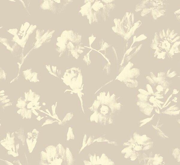 Bouquet - Julia Schumacher | abstrakt Aquarell Blumen floral Freesien Gerbera harmonisch malerisch modern Rosen