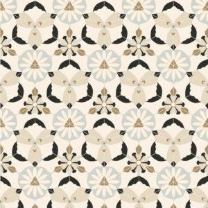 Kaleido-Beige - Johanna Skånmyr | Bad beige Fliese Flur Formen geometrisch grau Küche Linien oriental