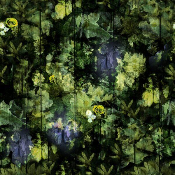 Regents Fresh Floral Green - Annette Taylor-Anderson | Blatt Blätter Blattwerk Blumen floral Natur