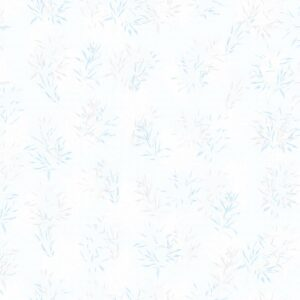 Laure Gramineae (blue) - Lise Froeliger | blue fine harmony leaves modern pastel plants texture