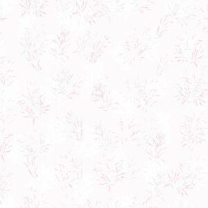 Laure Gramineae (pink) - Lise Froeliger | Blätter Harmonie modern Pastell Pflanzen pink Textur zart