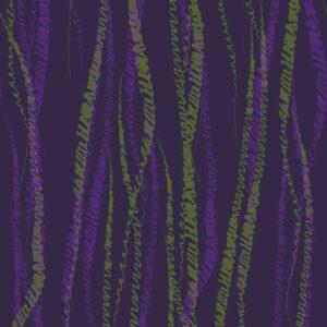 FLUX, Viola - Sabine Schröter | abstrakt Duktus flächig Handschrift Linien modern Rapport soft