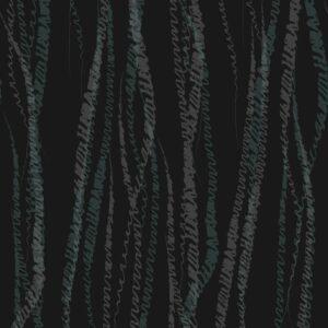 FLUX, Coal - Sabine Schröter | abstrakt Duktus flächig Handschrift Linien modern Rapport soft