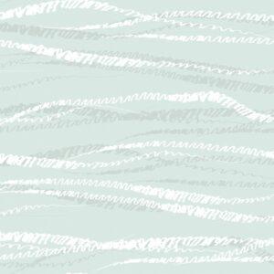 FLUX, Fog - Sabine Schröter | abstrakt Duktus flächig grau Handschrift Linien modern Rapport soft