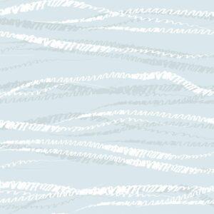 FLUX, Softbleue - Sabine Schröter | abstrakt Duktus flächig Handschrift Linien modern Rapport soft