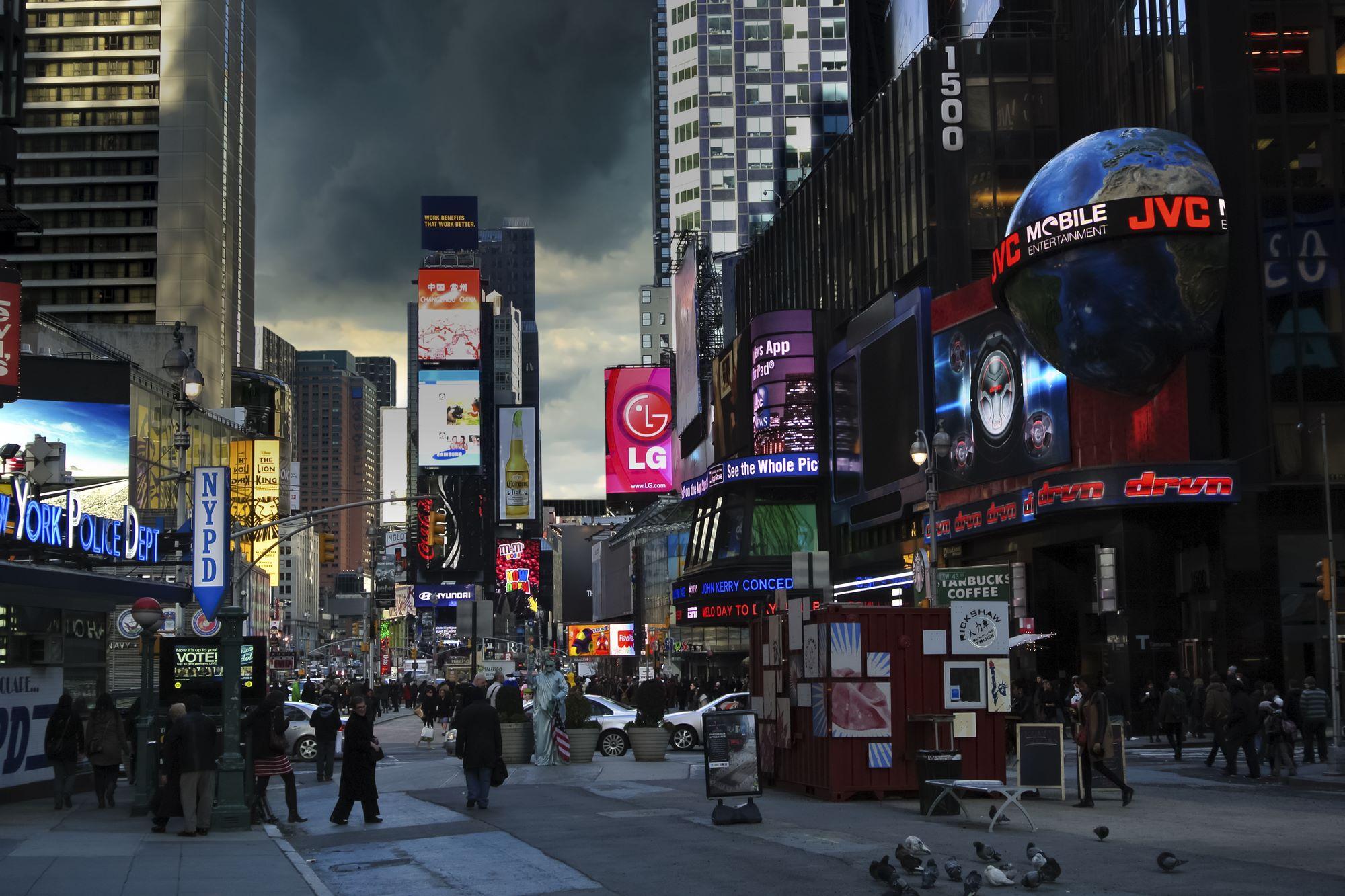 New York Time Square Designer Wallpaper Com Wallpapers Photo