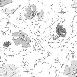 Tapete Floralline - Backround