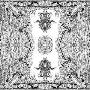 Tapete Argyle - dark grey