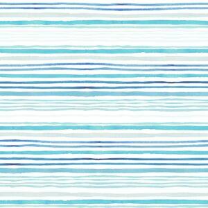 Wallpaper Serene Waves (blue)