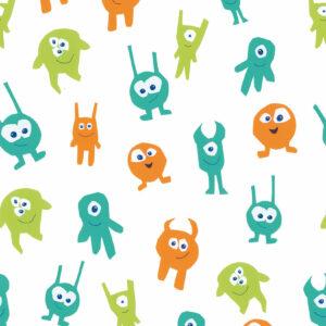 Tapete Monster - green